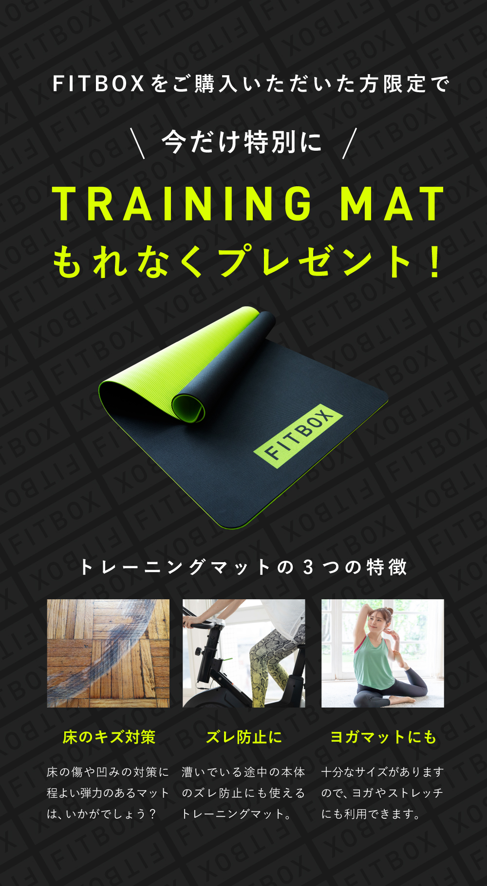 FITBOX公式店 限定セール!